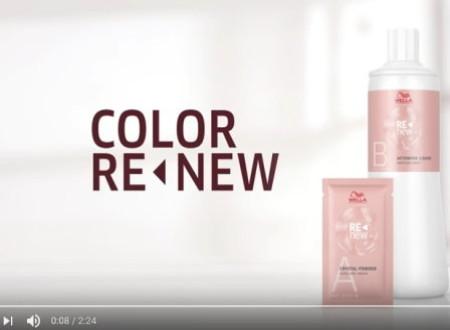 Wella Color Renew ideale Produkt für trendbewusste Farbkundinn