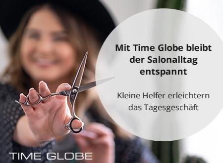 Mit Time Globe bleibt der Salonalltag entspannt