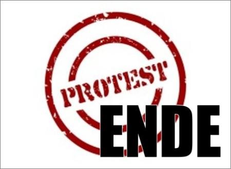 BUNTE Protest erfolgreich