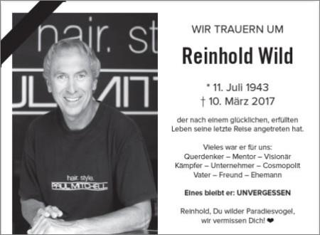 Reinhold Wild