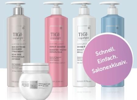 TIGI lanciert die Weltneuheit TIGI Copyright und reagiert auf den