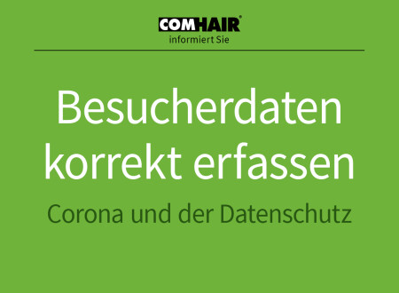Kundendaten erfassen zur Corona-Eindämmung