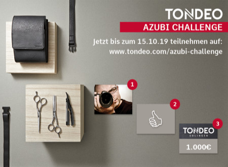 Die Tondeo-Azubi-Challenge läuft!
