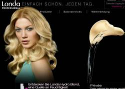 Londa Professional präsentiert sich im neuen Web-Look