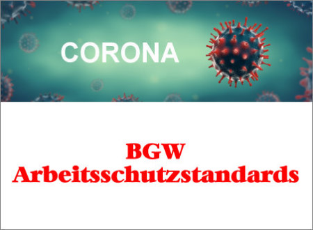 BGW - SARS-CoV-2-Arbeitsschutzstandard