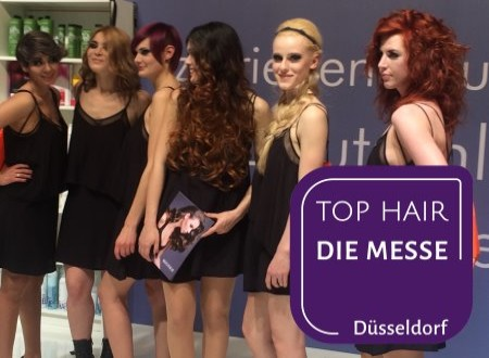 Neu: DIE MESSE - TOP HAIR Düsseldorf 2018