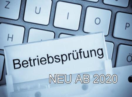 Neuerungen - ab 1.Januar 2020 in der Kassenführung