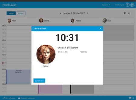 studiolution stellt Kunden Zeiterfassung zur Verfügung