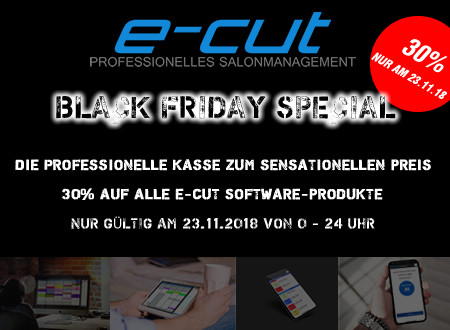 BLACK FRIDAY bei e-cut