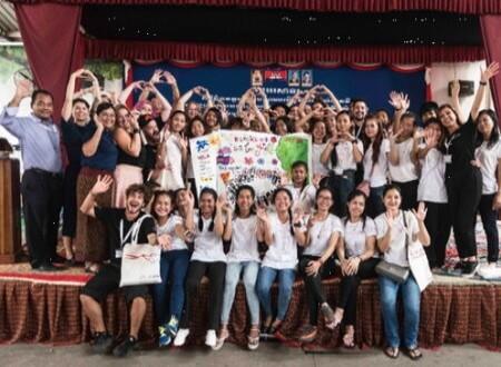 """WELLA-UNICEF """"Making Waves"""" in Kambodscha"""
