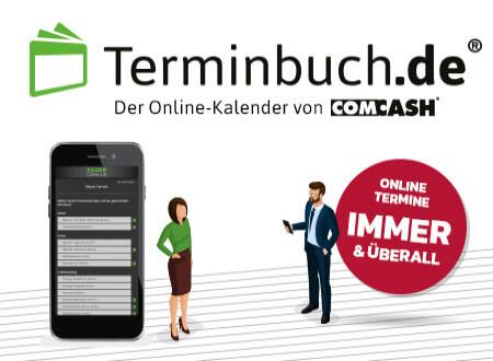 Terminbuch.de – DAS ONLINE-TERMINBUCH VON COMCASH!