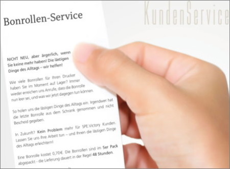 Bonrollen-Service