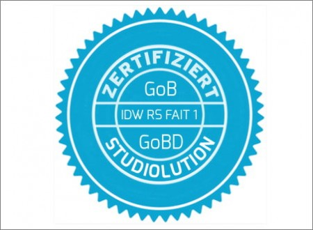 Jetzt zertifiziert