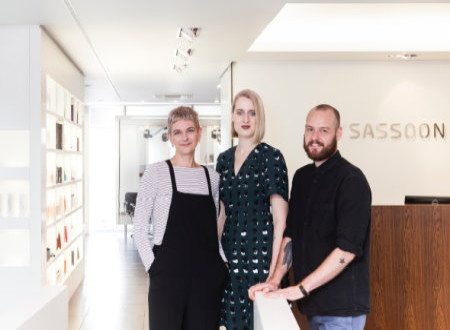 Sassoon Salon Düsseldorf: Kunst des Haare färbens